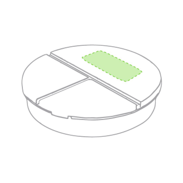 Impresión C-Centrado en la tapa