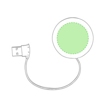 Impresión D-Centrado en el circulo