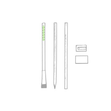 Impresión C-En un lápiz