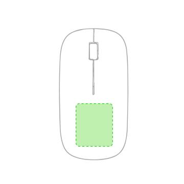 DIGITAL W2 (-10  cm2)-Parte inferior del ratón