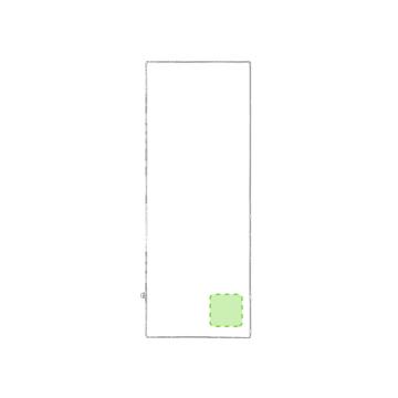 Bordado P5-En una esquina de la toalla. Puntadas máximas 30% de la superficie