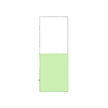 Impresión F-En la zona inferior de la toalla