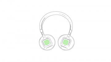 Impresión F-En ambos auriculares