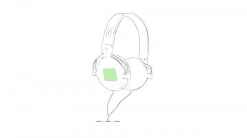 Impresión F-En el auricular izquierdo