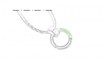 Laser L-En el elemento circular