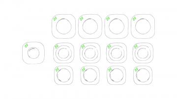 Impresión J-En la esquina de los platos