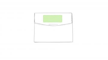 Impresión F-Sobre la solapa de cierre