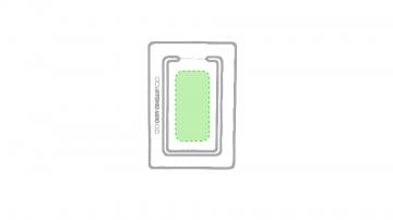 Impresión E-Recuadro central