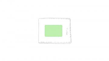 Impresión F-Centrado en la solapa principal