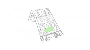 Bordado P-En el extremo de la bufanda, parte opuesta