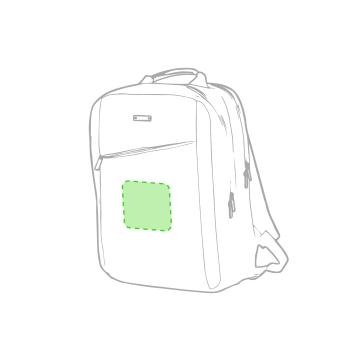Impresión K-En el frontal de la mochila