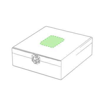 Impresión F-En la caja de presentación