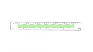 Impresión C-Sobre el largo de la regla