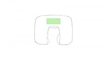 Impresión F-Centrado en la almohadilla