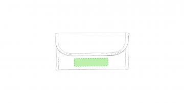 Impresión E-Debajo de la solapa de cierre