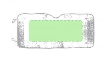 Impresión G-Centrada en el parasol