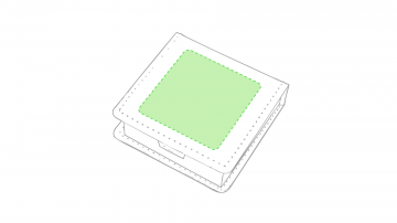 Impresión D-Sobre la tapa