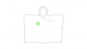 Impresión H-En el pecho izquierda tipo bolsillo
