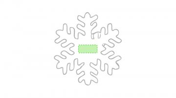 Impresión C-En el copo de nieve