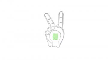 Impresión G-En la palma de la mano