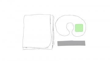 GRABACIÓN TRANSFER SERIGRÁFICO-En el brazo de la almohada