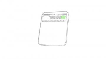 Impresión E-A la derecha del teclado